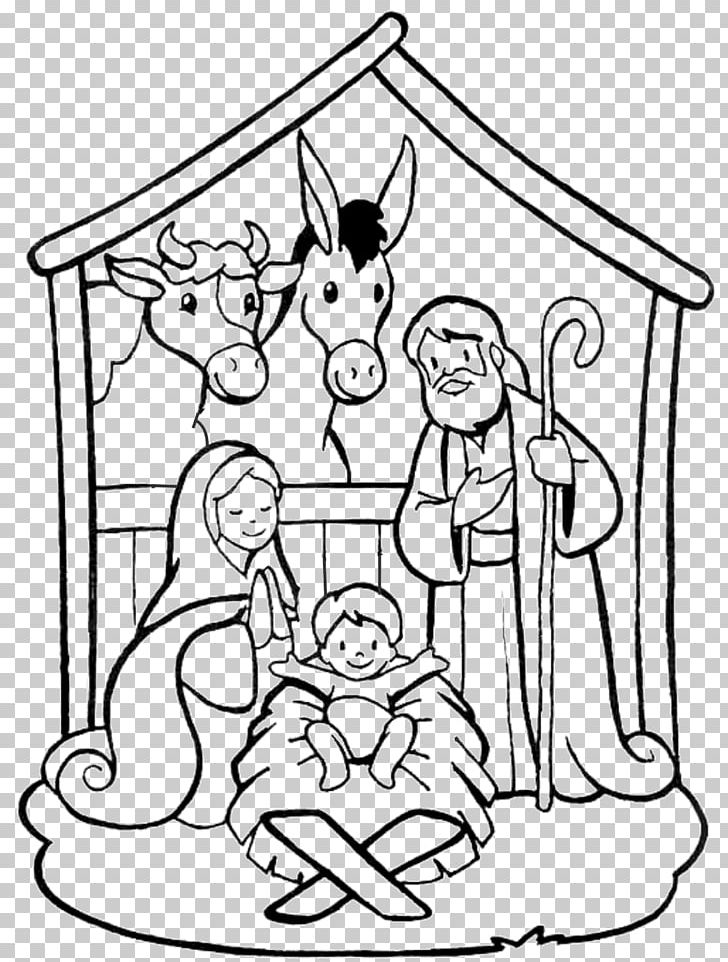 Christmas Day Drawing Images.Nativity Scene Drawing Coloring Book Manger Christmas Day