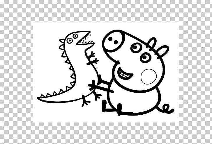 George Pig Daddy Pig Mummy Pig Coloring Book Png Clipart Animals