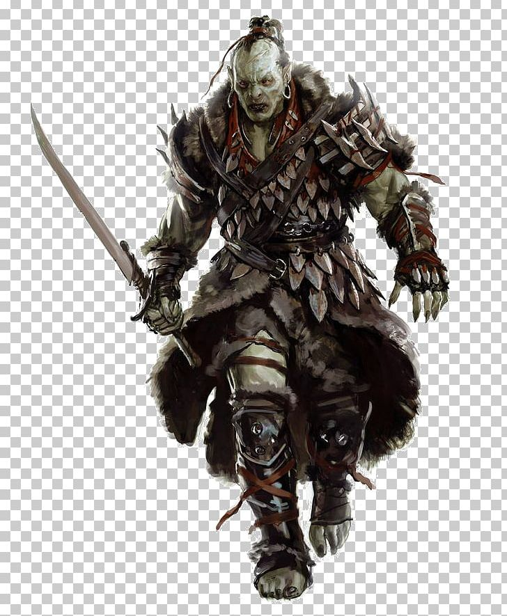 Dungeons & Dragons Pathfinder Roleplaying Game Half-orc Humanoid PNG