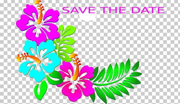 Hawaiian Hibiscus Flower Png Clipart Artwork Cartoon Cut Flowers
