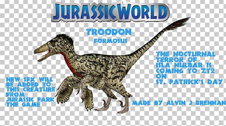 Velociraptor Jurassic Park: The Game Troodon The Lost World: Jurassic Park YouTube PNG, Clipart, Animal Figure, Beak, Deviantart, Dinosaur, Extinction Free PNG Download