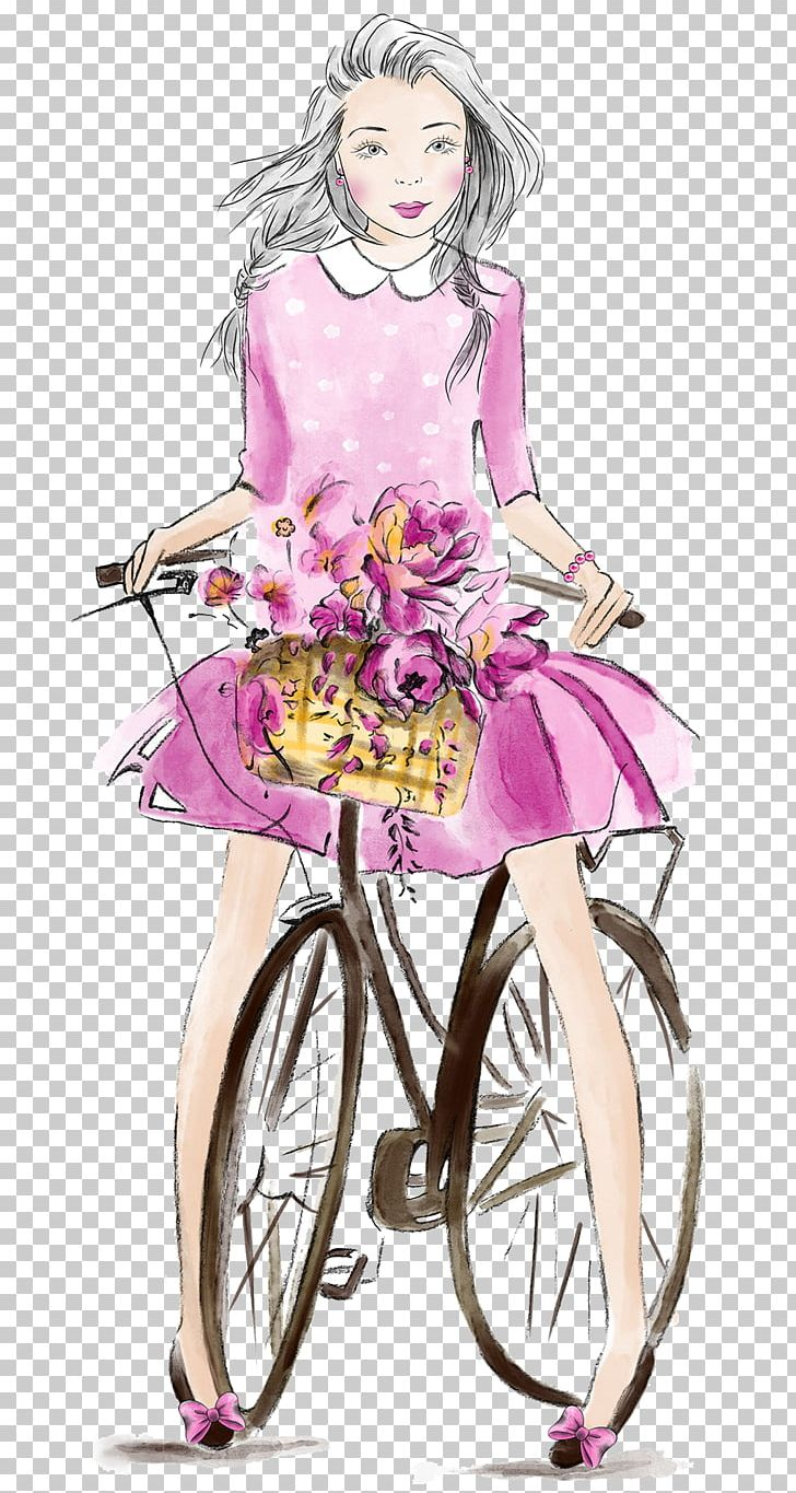 Cycling Drawing Bicycle Png Clipart Baby Girl Bicycle Cartoon