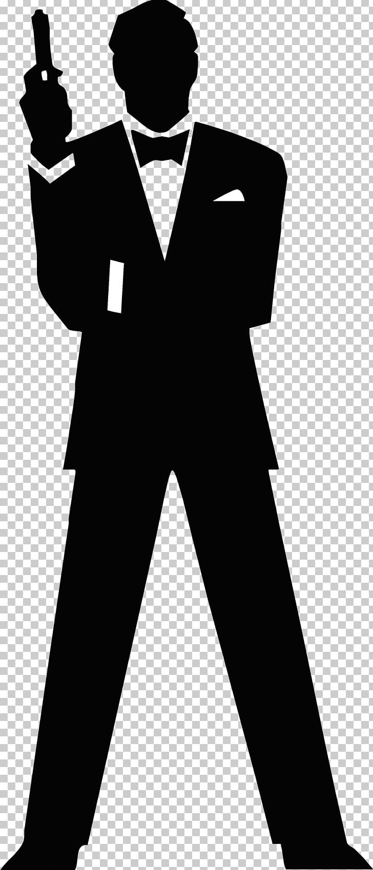James bond silhouette photography png clipart black and white encapsulated postscript formal wear gentleman graphic arts