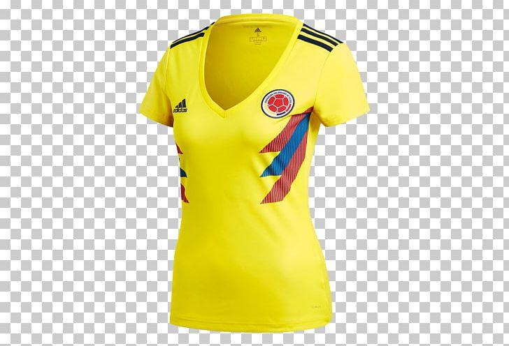 dc2dd7f79 2018 FIFA World Cup Colombia National Football Team Jersey Adidas PNG,  Clipart, 2018 Fifa World Cup, ...