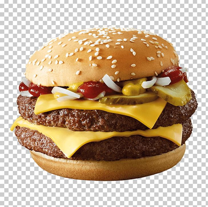 Hamburger McDonald's Quarter Pounder Cheeseburger Whopper Fast Food PNG, Clipart, American Food, Breakfast Sandwich, Buffalo Burger, Bun, Cheese Free PNG Download