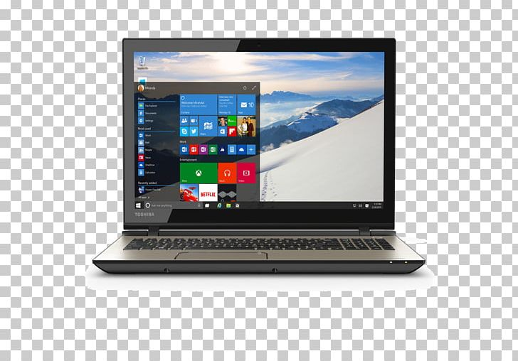 Laptop Dell Toshiba Satellite Windows 10 PNG, Clipart, Computer
