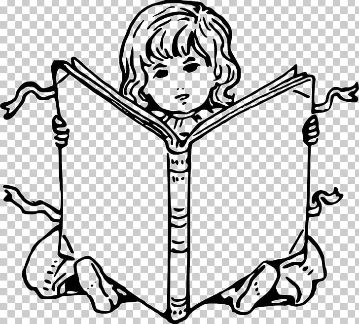 Coloring Book Child Drawing Reading PNG, Clipart, Black And White, Book, Child, Child Drawing, Coloring Book Free PNG Download