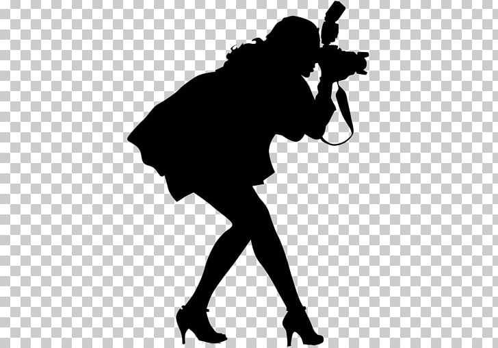 Photographer Photography Silhouette PNG, Clipart, Black, Black And White, Camera, Female, Fictional Character Free PNG Download