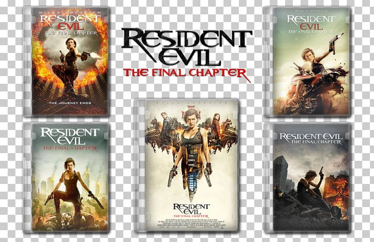 Action Film Resident Evil Blu-ray Disc Video Game PNG