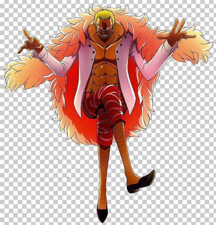 Donquixote Doflamingo Monkey D Luffy One Piece Shichibukai
