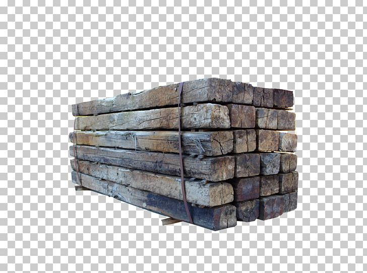 Lumber Wood Railroad Tie Panelling Creosote PNG, Clipart