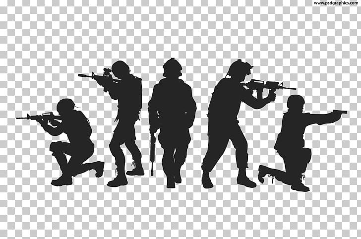 Silhouette Soldier Military Army Png Clipart Animals Army