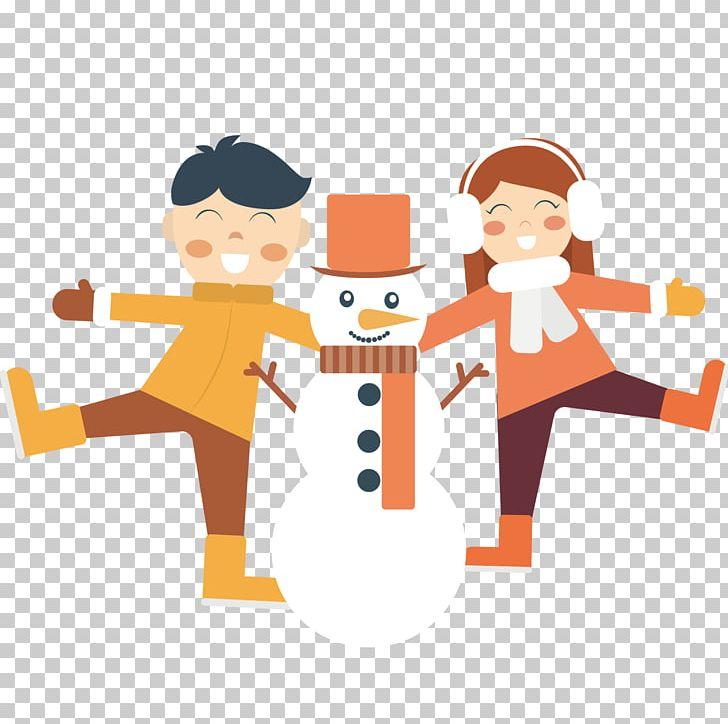 Winter Snowman PNG, Clipart, Art, Boy, Cartoon, Child, Fictional Character Free PNG Download