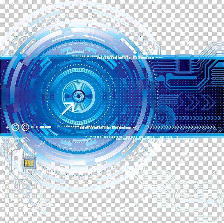 Technology Euclidean PNG, Clipart, Blue, Chip, Circle, Education Science, Electric Blue Free PNG Download