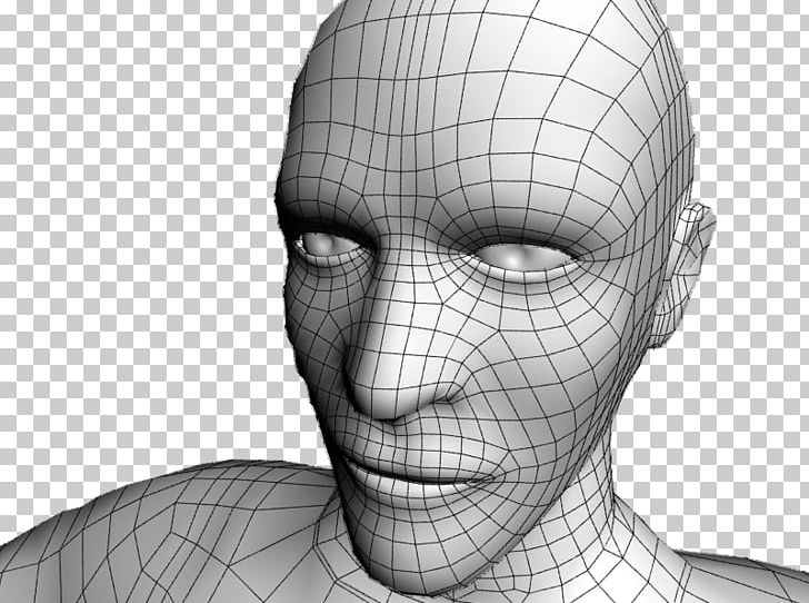 Eye Low Poly Website Wireframe Wire-frame Model Polygon Mesh PNG