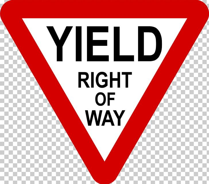 Yield Sign Right-of-way Stop Sign Traffic Sign United States PNG, Clipart, Area, Brand, Driving, Highway, Intersection Free PNG Download