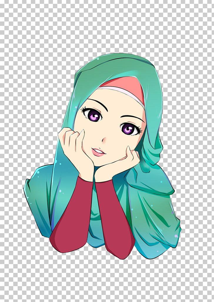 Hijab Cartoon Islam Muslim Drawing PNG, Clipart, Animated Cartoon, Anime, Art, Beauty, Cartoon Free PNG Download