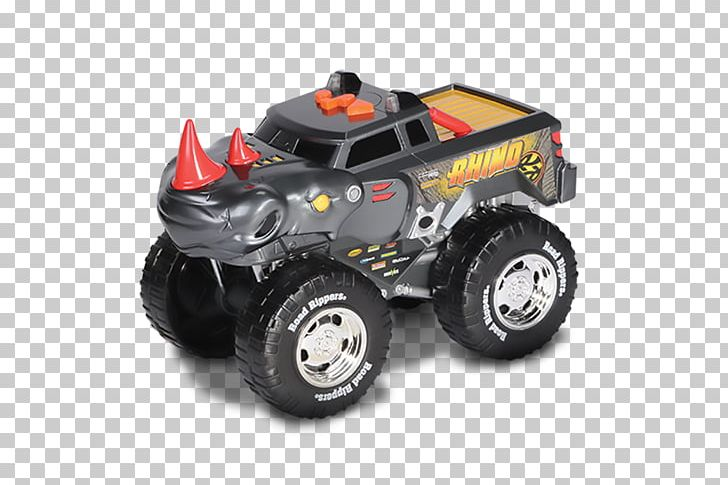 Monster Truck Car Tire Toy State Rhino Wheelie Monsters