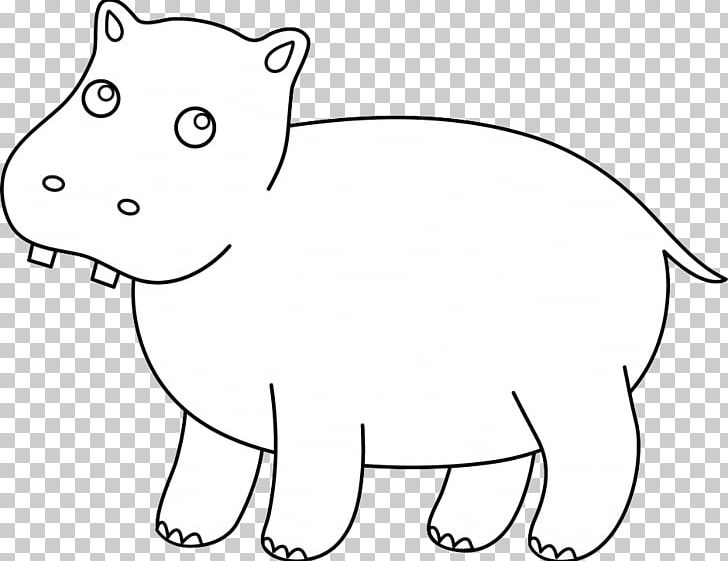 Hippopotamus Drawing PNG, Clipart, Area, Artwork, Black, Black And White, Blog Free PNG Download