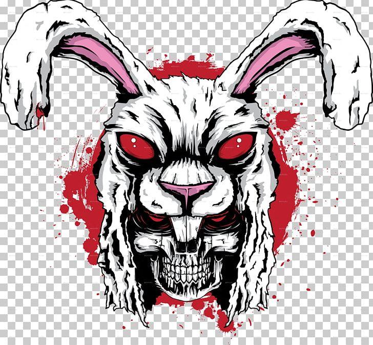 Rabbit Of Caerbannog Killer Bunnies And The Quest For The Magic Carrot Skull European Rabbit PNG, Clipart, Art, Bone, Brush Rabbit, Demon, Drawing Free PNG Download