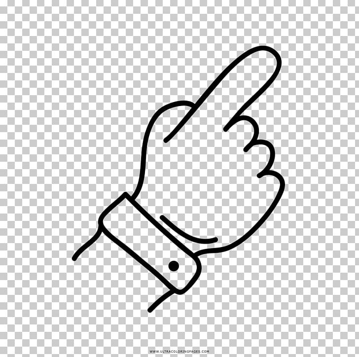Thumb Hand Drawing Coloring Book Digit Png Clipart Angle