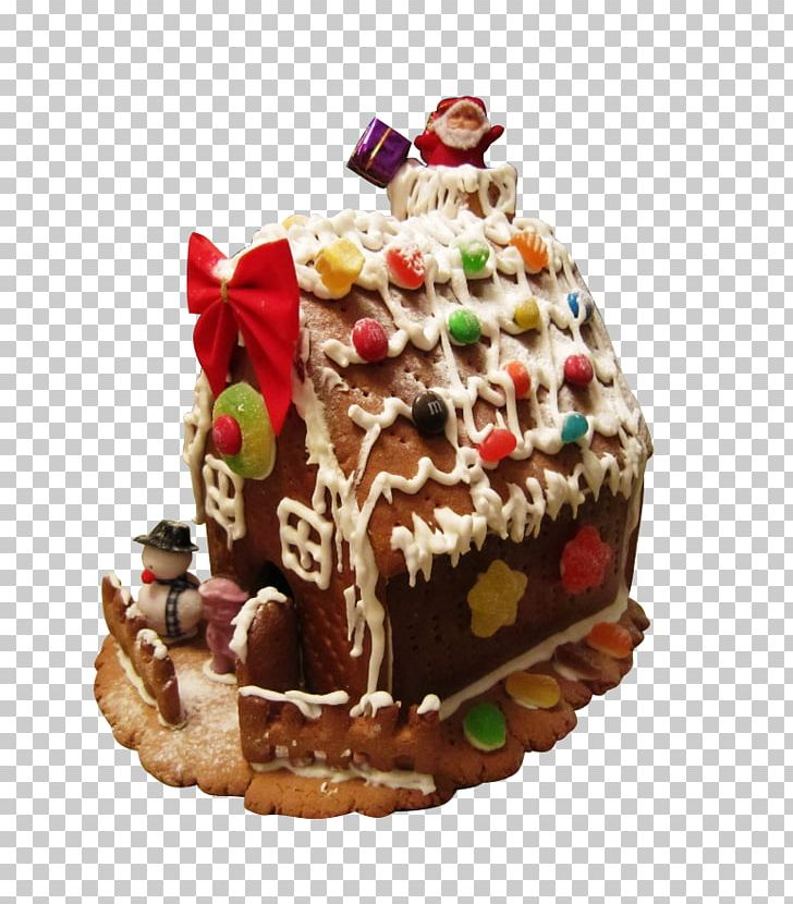 Awesome Gingerbread House Ginger Snap Fruitcake Chocolate Cake Png Funny Birthday Cards Online Hetedamsfinfo