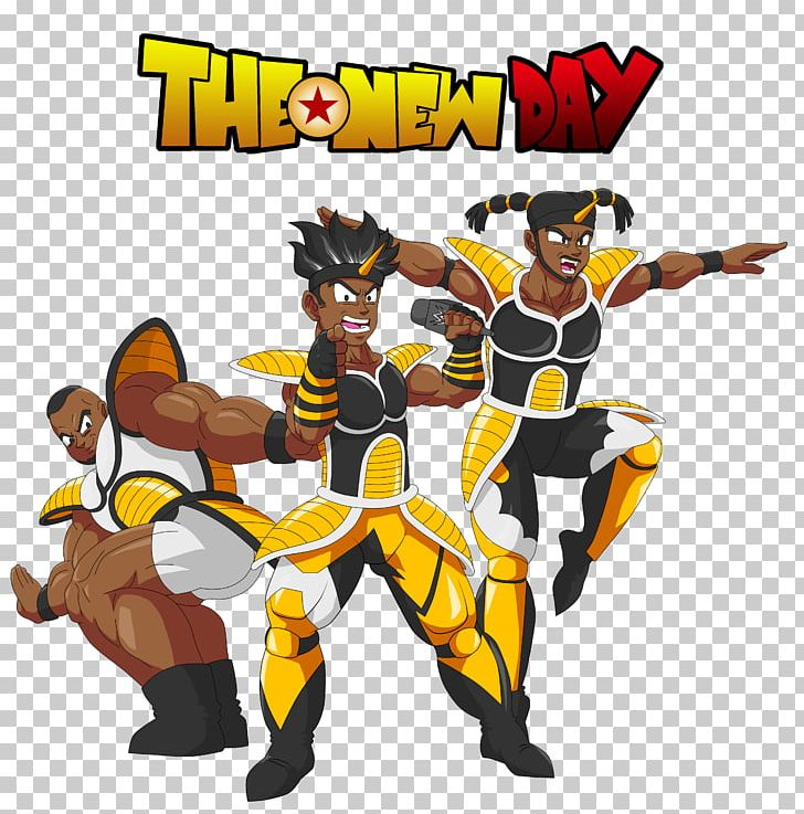 Fan Art The New Day Drawing Wrestlemania Png Clipart Action Figure Anime Art Artist Cartoon Free