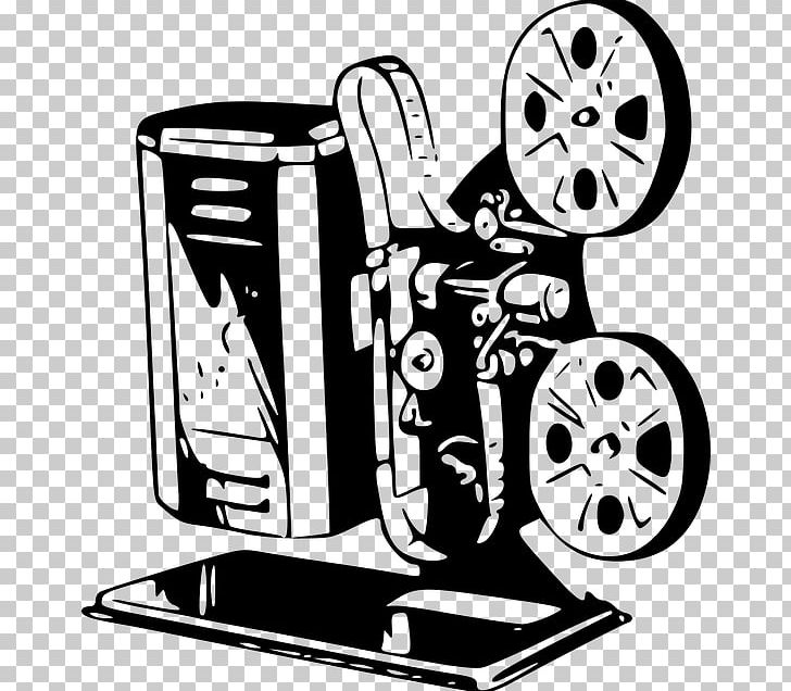 Movie Projector Film PNG, Clipart, Art, Artwork, Black And White, Cartoon, Cinema Free PNG Download