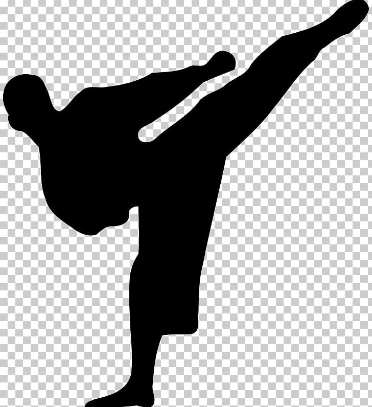Karate Martial Arts Kick PNG, Clipart, Arm, Black And White, Chinese Martial Arts, Finger, Hand Free PNG Download