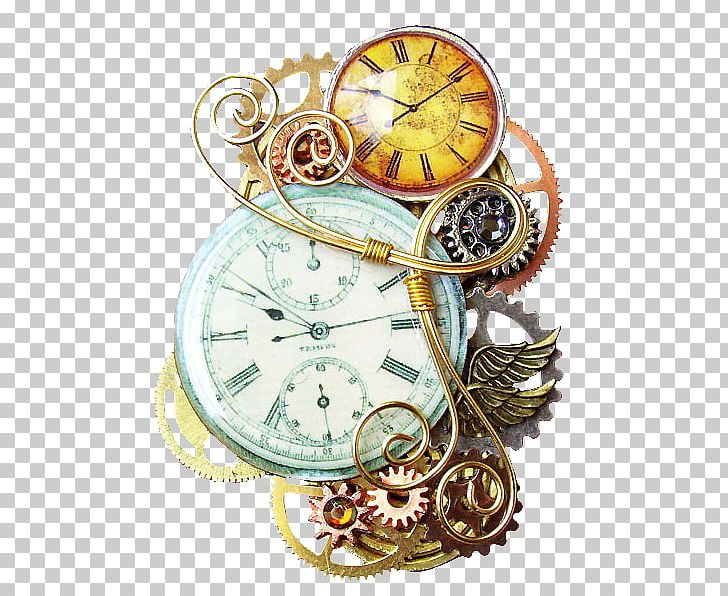 Steampunk Fashion Pin Jewellery Pocket Watch PNG, Clipart, Accessories, Apple Watch, Clock, Fashion Accessory, Fresh Free PNG Download
