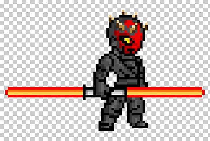 Darth Maul Anakin Skywalker Pixel Art Spider Man Png