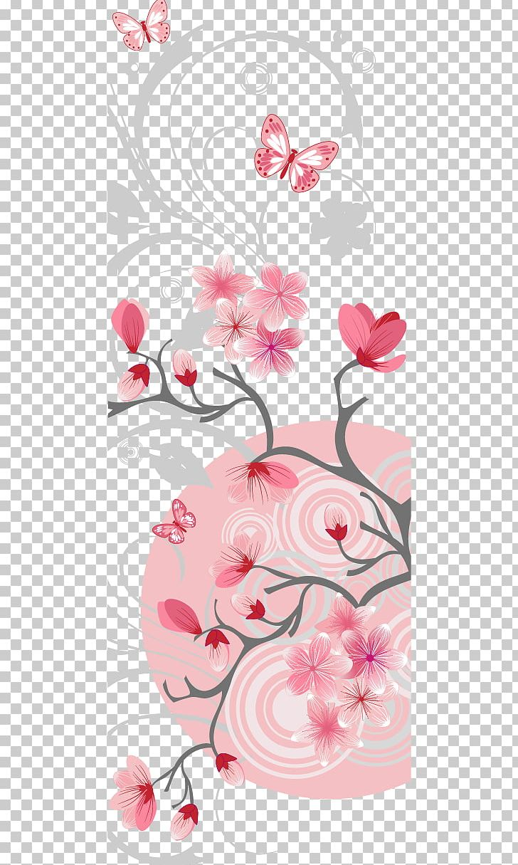 Sakura Card Shading PNG, Clipart, Birthday Card, Branch, Business, Business Card, Christmas Card Free PNG Download