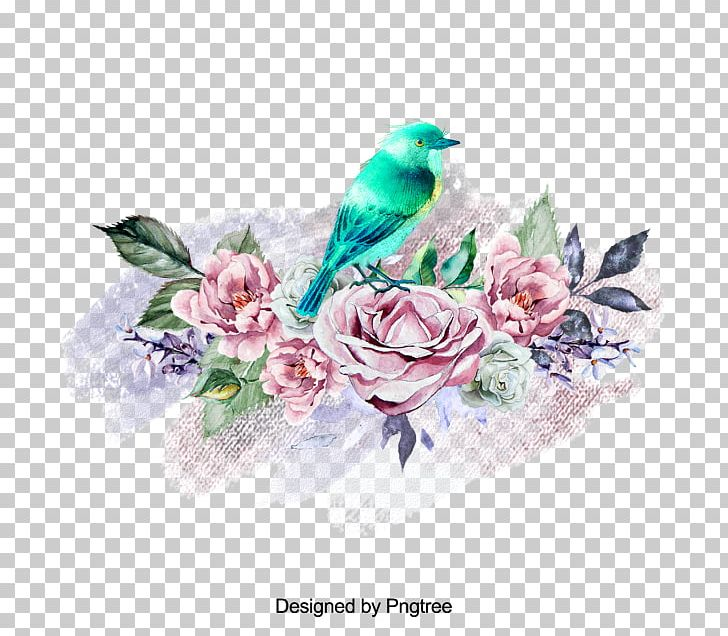 Rose Family Floral Design Illustration Flower PNG, Clipart, Art, Bird, Cut Flowers, Family, Feather Free PNG Download