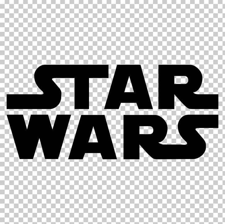 Star Wars Logo PNG, Clipart, Area, Black And White, Brand, Download, Encapsulated Postscript Free PNG Download
