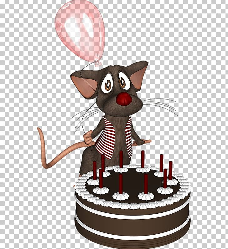 Cat Birthday Cake Chocolate Computer Mouse PNG Clipart Animals Animation Balloon Cartoon Balloons Free