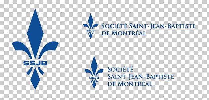Logo Saint-Jean-Baptiste Society Organization Nativity Of Saint John The Baptist Brand PNG, Clipart, Blue, Brand, Diagram, Emblem, Foundation Free PNG Download
