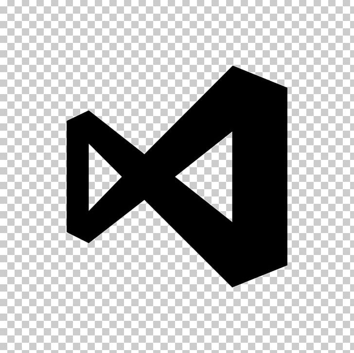 Microsoft Visual Studio Computer Icons Visual Basic Microsoft Visual C++ Visual Studio Code PNG, Clipart, Angle, Black, Black And White, Brand, Computer Icons Free PNG Download