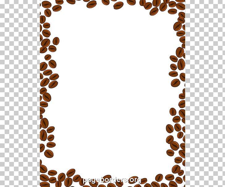 Coffee Bean Cappuccino Cafe Png Clipart Bean Border Brown Brown Border Cliparts Cafe Free Png Download