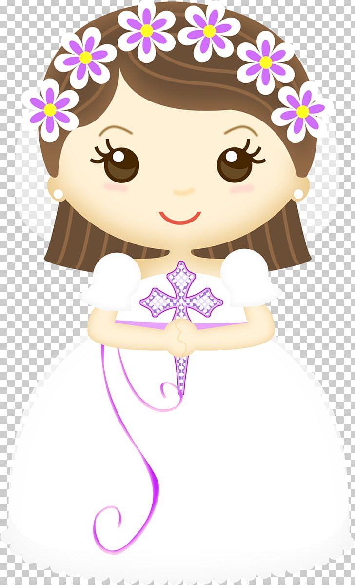 First Communion Eucharist Baptism Child PNG, Clipart, Art, Baptism, Brown Hair, Cartoon, Cheek Free PNG Download
