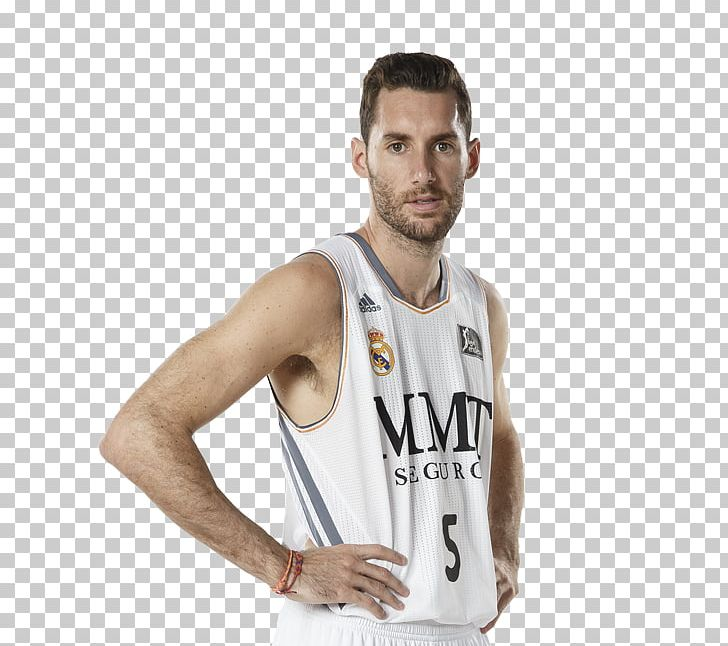 low priced e5cde c6393 Sergio Llull Real Madrid Baloncesto Real Madrid C.F. T-shirt ...