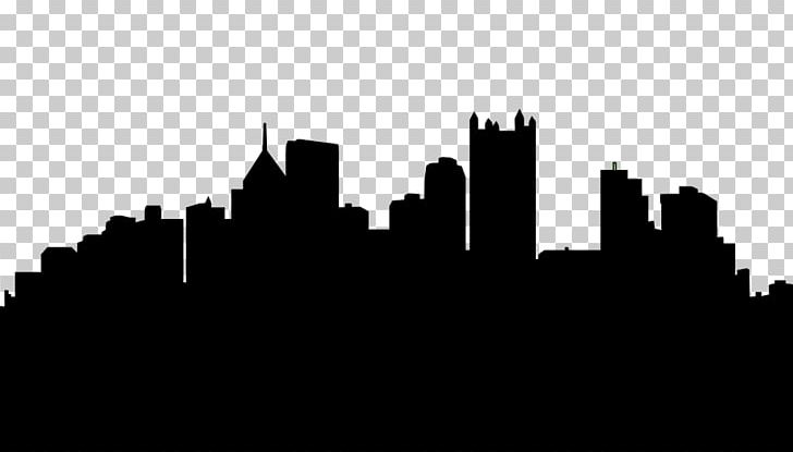 Pittsburgh Skyline Silhouette PNG, Clipart, Art, Black, Black And White, City, Clip Art Free PNG Download