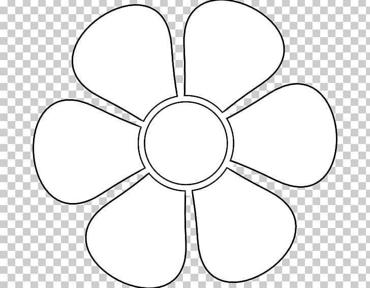 Stencil Flower Drawing Petal Png Clipart Area Art Art