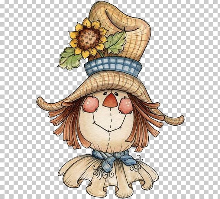 Scarecrow Face Halloween Png Clipart Art Autumn Cartoon Chef Hat Child Free Png Download