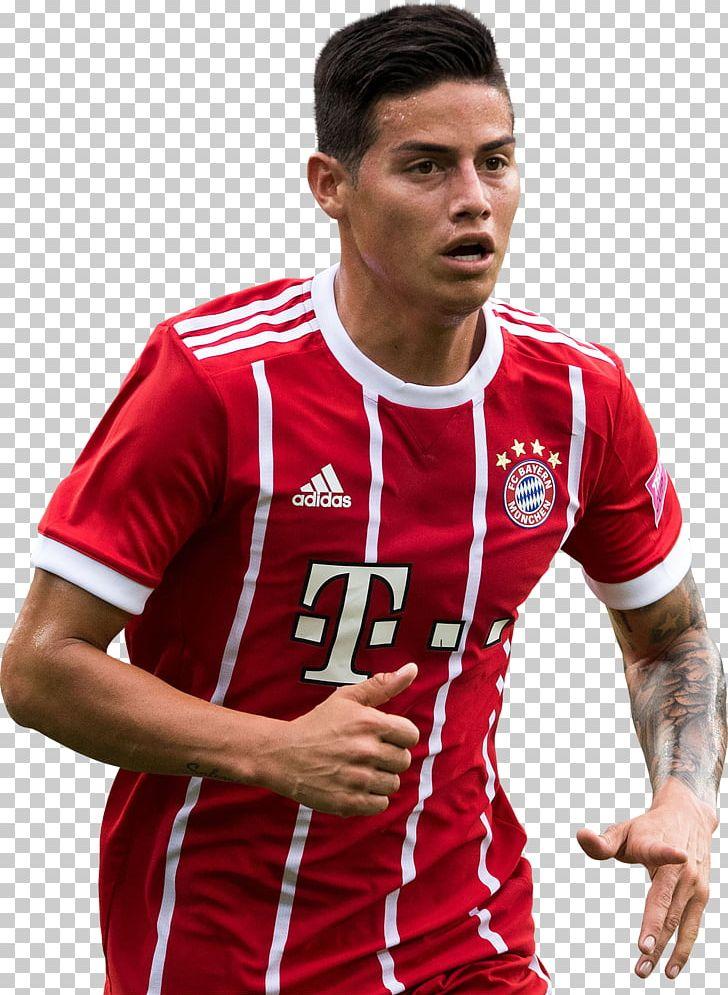 90e312a39e5 James Rodríguez FC Bayern Munich Real Madrid C.F. UEFA Champions League La  Liga PNG, Clipart, ...