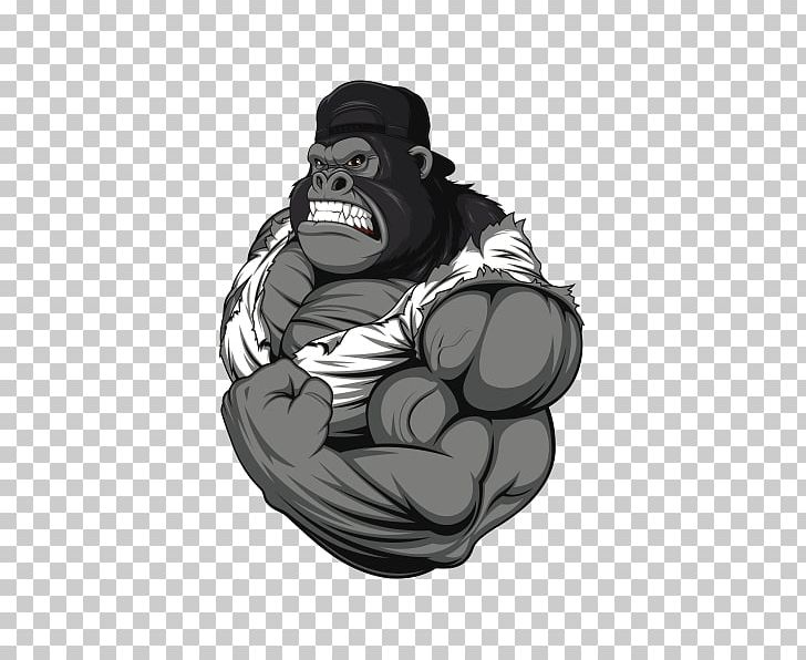 Remarkable Bodybuilding Gorilla Fitness Centre Png Clipart Arm Gmtry Best Dining Table And Chair Ideas Images Gmtryco