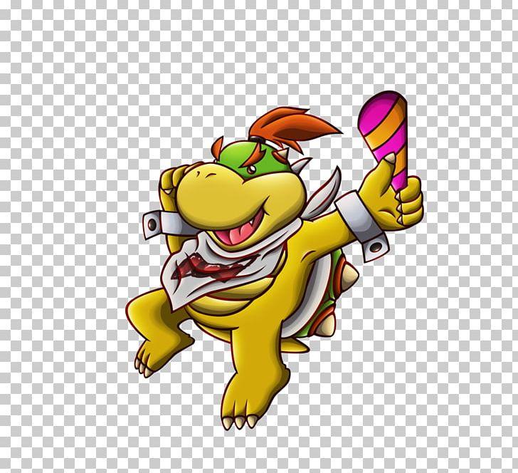 Bowser Jr Mario Series Character New Year Png Clipart