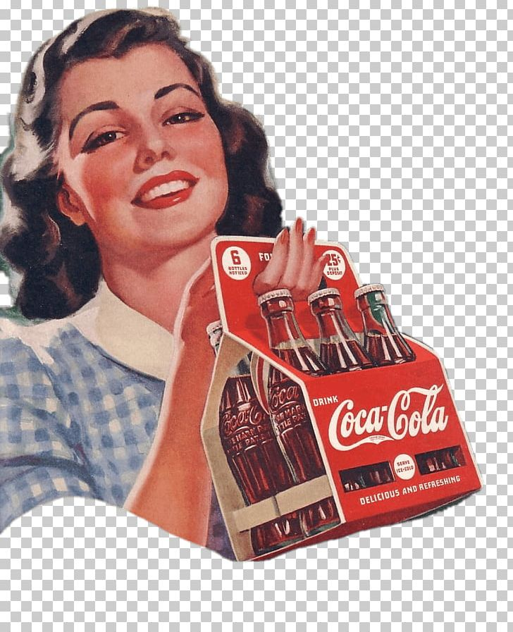 Vintage Coca Cola Advertising Feat Woman PNG, Clipart, Coca