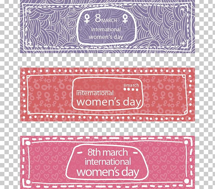 Banner International Womens Day Woman PNG, Clipart, Banner, Earth Day, Fashion Background, Fathers Day, Happy Birthday Vector Images Free PNG Download