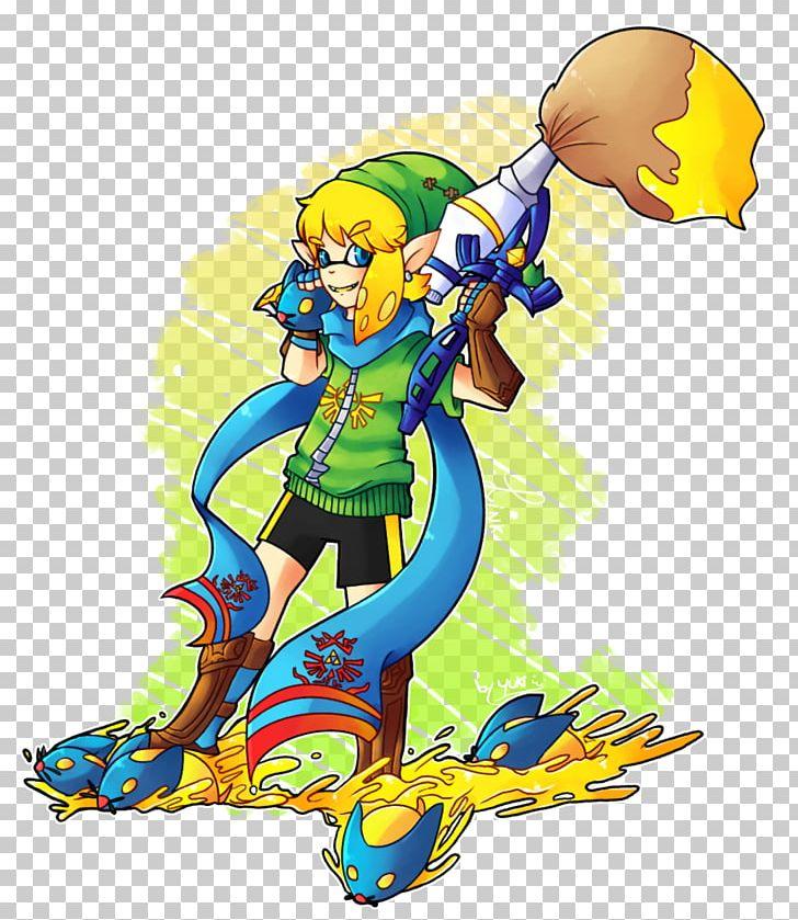 Link Splatoon The Legend Of Zelda Breath Of The Wild Ganon