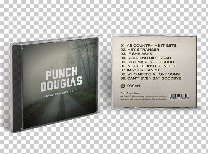 Punch Douglas Dead End Dirt Road Cover Art Brand PNG, Clipart, Album, Album Cover, Brand, Country Rock, Cover Art Free PNG Download
